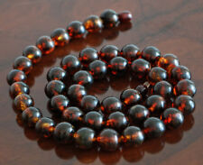 Natural Baltic Amber Cherry Necklace  37 gr