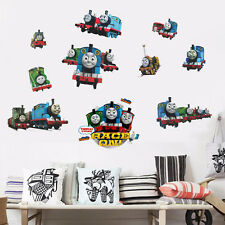 3D Effect WALL STICKERS TRAIN THOMAS Vinyl PVC Decal Nursery Room Decor Mural
