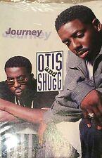 """Otis & Shugg """"Journey"""" Soul R&B Cassingle Tape SEALED 1996 Raphael Saadiq HTF"""