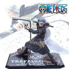 "One Piece Battle Ver. Heart Pirates Trafalgar Law 11cm / 4.4"" PVC Figure NO Box"