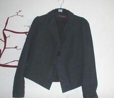 blazer VESTE COMPTOIR DES COTONNIERS modele doom lin noire courte 36