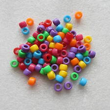 100 Pony Beads For Bracelets Hair Braiding Dummy Clip Big Hole Buy 3 Get 1 free
