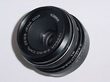 TESSAR 50mm F2.8 CARL ZEISS JENA DDR M42 Screw Mount Lens ** Ex+++