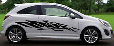 2x Tribal- Large - Decals - Vinyl - Sticker - Car - Body Panel - Van ct002