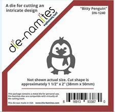Die-Namites Intricate Design Single Cutting Die ~ BITTY PENGUIN  Cold ~ DN-1240