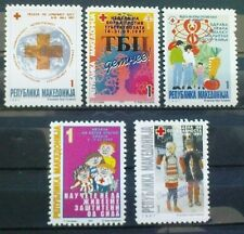 Macedonia 1997 Charity stamps MNH