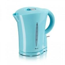 New Swan Cordless Electric Kettle Jug 1.7L Litre Water Tea Coffee Blue Kitchen