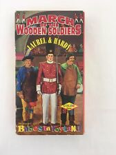 The March of the Wooden Soldiers VHS 1991 Laurel & Hardy Babes In Toyland Color