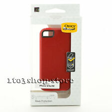 OtterBox SYMMETRY Hard Snap Cover Case for iPhone se/5s/5 (FLAME RED/RACE RED)
