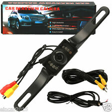 7 LED Night Vision Car Rear View Reverse Backup Parking Camera CMOS Waterproof