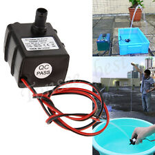 DC 12V 3m 240L/H Ultra Quiet Brushless Motor Submersible Pool Solar Water Pump