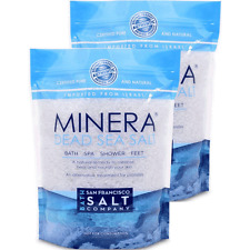 Minera® Dead Sea Salt 10lbs (Qty 2x5lb bags) - Coarse Grain