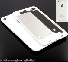 VETRO POSTERIORE REAR GLASS COVER PER IPHONE 4g bianco RICAMBIO