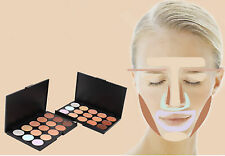 15 Colors Shimmer Eye Shadow Palette Warm Nude Matte Cosmetic Concealer Makeup