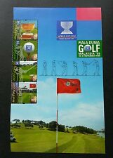World Cup Golf Malaysia 1999 Sports Games Golfer Championship (stamp title) MNH