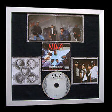 NWA+Straight Outta Compton+GALLERY QUALITY FRAMED+EXPRESS GLOBAL SHIP+Not Signed
