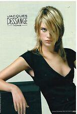 Publicité Advertising 2001 Les salons de Coiffure Jacques Dessange