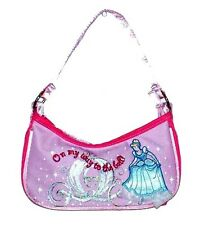 Princess tote bags purse handbag Embroided Cinderella Disney new w tags