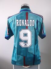 RONALDO #9 Barcelona Away Football Shirt Jersey 1996/97 (L)