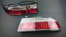 Phase 2 Crystal Clear Rear Tail Light Kit 3pcs For Nissan S14 Zenki 240SX Silvia