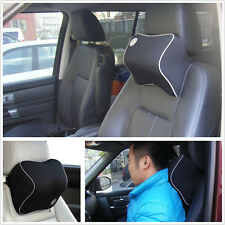 Comfortable Memory Foam Pillow Car Seat Cover Head Neck Rest Support Cushion Mat