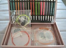 Knitter's Pride Deluxe Boxed ROYALE IC Interchangeable Needle GIFT SET w/Bonuses