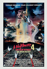 Horror: A Nightmare on Elm Street 4 * Dream Master  * Movie Poster 1988
