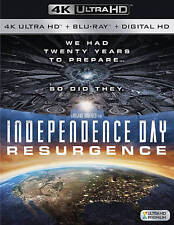 Independence Day: Resurgence 4K Ultra HD/Blu-ray NEW