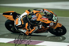 Sam LOWES Donnington SIGNED Moto2 Autograph 12x8 Photo Speed Up Rider AFTAL COA