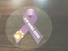 All Pets Lives Matter - Stop Animal Abuse Adhesive Window Decal