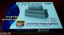 ATEN VIDEO SPLITTER 4 PORT (VS-94A), 1 VGA to 4 VGA duplicator, new