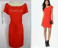 NWT BEBE Logo Boatneck Dress S Showstopping Boatneck dress, sexy!!