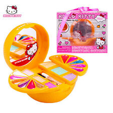 New Lovely Hello Kitty Orange Make Up Set Toy Set For Girls Kids Children