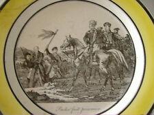 RARE ASSIETTE CHOISY le ROI - INDEPENDANCE GRECQUE - vers 1830 - FAIRE OFFRE !!