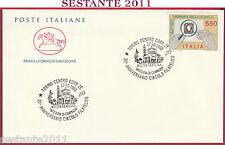ITALIA FDC CAVALLINO MOSTRA FILATELICA MADONNA DI CAMPAGNA 1992 TORINO S149