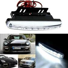 8 LED Waterproof DC 12V Daytime Driving Running Light DRL Car Fog Lamp Set New F