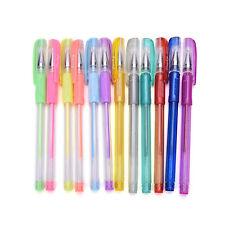 1 Set 12 colors Gel Pen Glitter Pens Asst Scrapbooking Crafter DIY Gift Card ST