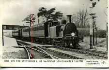 Pamlin photo postcard M804 Southern Region Steyning Southwater Train Sussex 1950