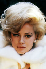 Virna Lisi 11x17 Mini Poster in fur coat 1960's pose