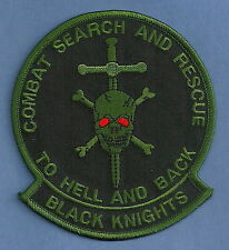 U.S. NAVY BLACK KNIGHTS COMBAT SEARCH & RESCUE PATCH