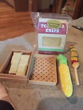 American Girl Doll BBQ Party Items New
