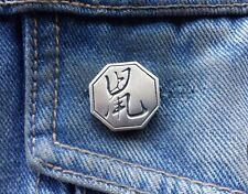Chinese Year Of The Rat Pewter Pin Badge