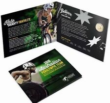 IN STOCK - 2016 $2 Australian Paralympic Team $2 Olympic Coin In Folder - UNC
