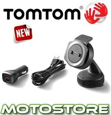 TOMTOM RIDER 40 400 410 CAR MOUNTING KIT MOTORCYCLE SAT NAV GPS MOUNT CHARGE USB