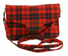 Ross Red Tartan Handbag 100% Wool 60% off RRP (Style 560)