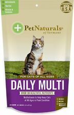 Pet Naturals of Vermont Daily Multi Cat Chews, 30 count Free Shipping
