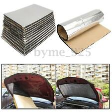 12 Sheets Car Vehicle Glass Fibre Foam Soundproofing Deadening Insulation 10mm