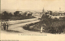 early 1900s postcard  - arc de l'ecce homo a jerusalem . french message