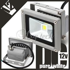 IP65 impermeabile faro esterno lampada 10w proiettore led luce bianco dc 12v new