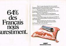 PUBLICITE  1978   SNCF  redécouvrez le train ( 2 pages)